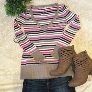 Aeropostale striped sweater